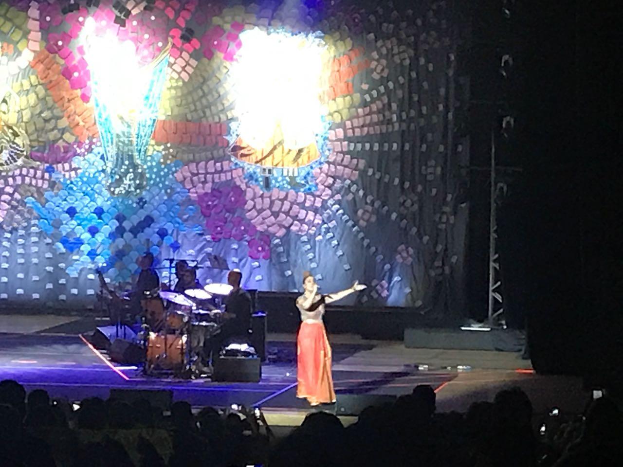 WhatsApp Image 2018 04 22 at 10.30.08 - Maria Rita discursa sobre violência e intolerância no Brasil durante show em JP; VEJA VÍDEOS