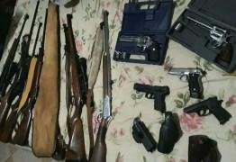 Polícia realiza operação  de combate ao tráfico de armas e munições