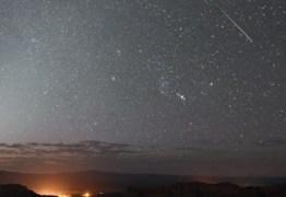 Chuva de estrelas cadentes será vista em todo o Brasil nesta semana