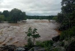 Onze reservatórios sangram após fortes chuvas na Paraíba; VEJA QUAIS SÃO