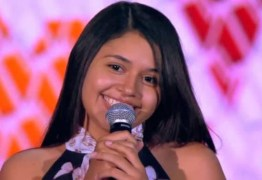 SONHO: Vencedora do The Voice Kids, Eduarda Brasil quer cantar no Maior São João do Mundo