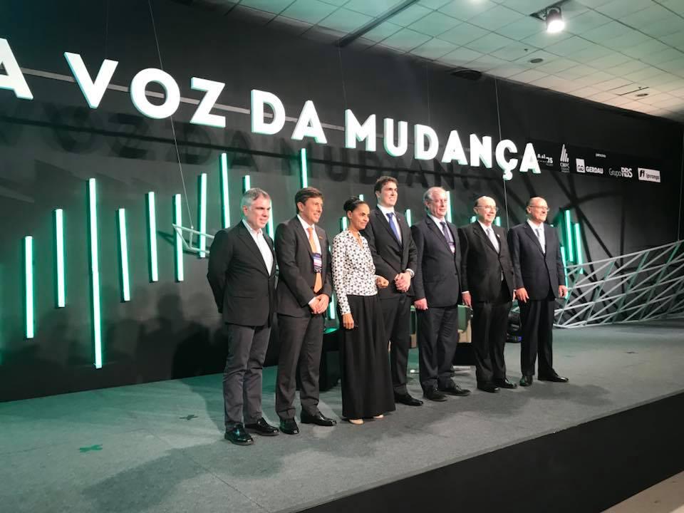 encontro presidenciaveis forum liberdade - FUGIU: Avesso a debates, Bolsonaro não comparece a evento de presidenciáveis