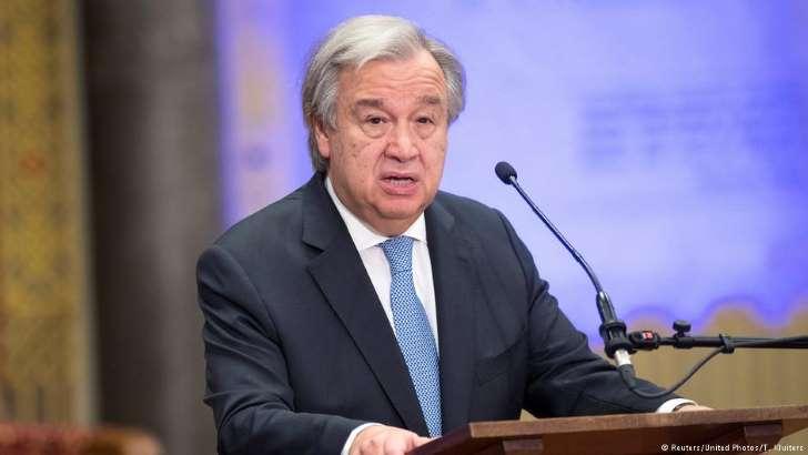 guterres secretário geral onu - Secretário-Geral da ONU afirma que a Guerra Fria teria recomeçado