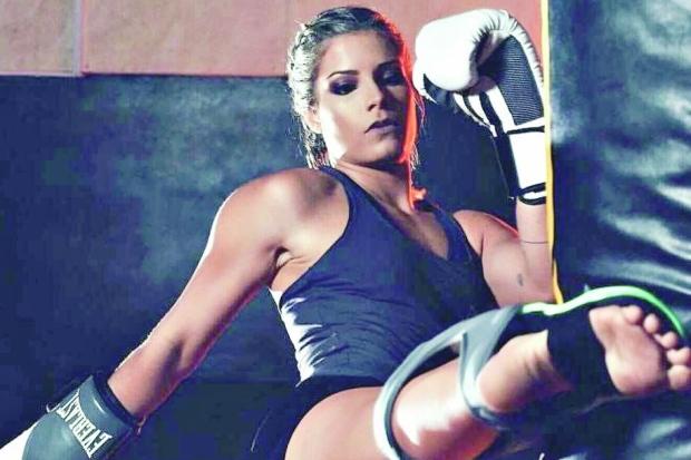 luana pinheiro - Judoca paraibana estreia no MMA Internacional e vence luta