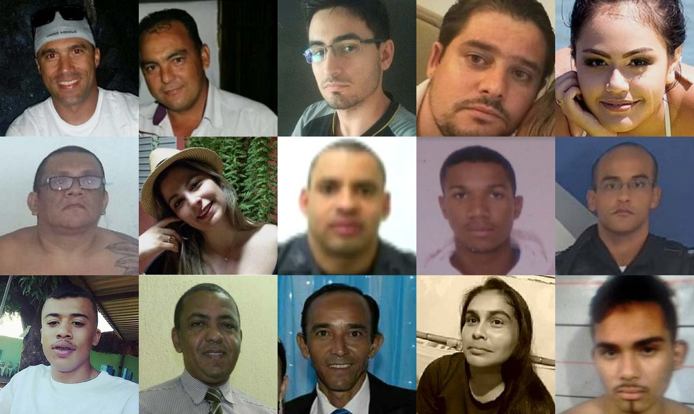 vítimas assassinados - VIOLÊNCIA: Brasil registra mais de 3 mil pessoas assassinadas em fevereiro no Brasil