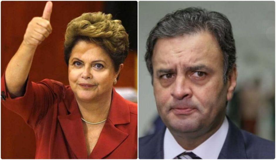 1526411741348286 - RIVAIS: Dilma disputará com Aécio  em MG