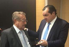 José Maranhão se reúne com Ministro da Integração Nacional sobre obras da transposição na Paraíba