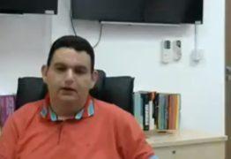 Em vídeo, Fabiano Gomes detalha ao MPPB compra do mandato de Luceninha