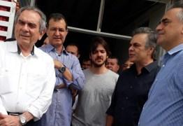 """Lira explica """"agenda cheia"""" e desmente divergências com Cunha Lima"""
