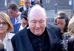 Arcebispo australiano é condenado por acobertar pedofilia