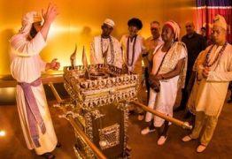 """""""DIÁLOGO"""": Templo de Salomão recebe visita de candomblecistas:"""