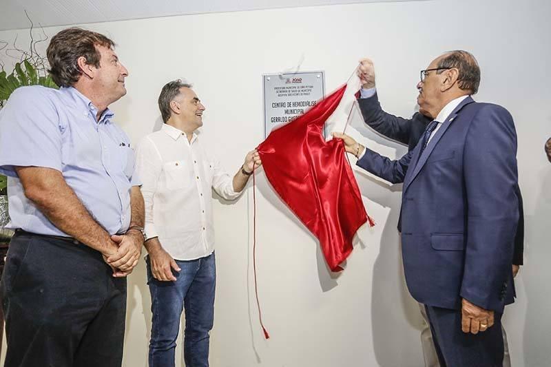 cartaxo inaugura2 - Prefeitura de João Pessoa entrega novo Centro de Hemodiálise e amplia atendimento