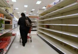 Por falta de reposição, supermercados de João Pessoa têm prateleiras vazias