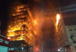 VEJA VÍDEO: Prédio de 26 andares em chamas desaba no centro de São Paulo