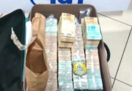 PRF acha mala com 1,2 milhão de reais durante blitz