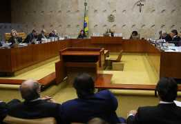 STF começa envio à 1ª instância de casos contra deputados