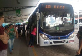 Circulação de ônibus será suspensa em Campina Grande a partir desta quinta-feira