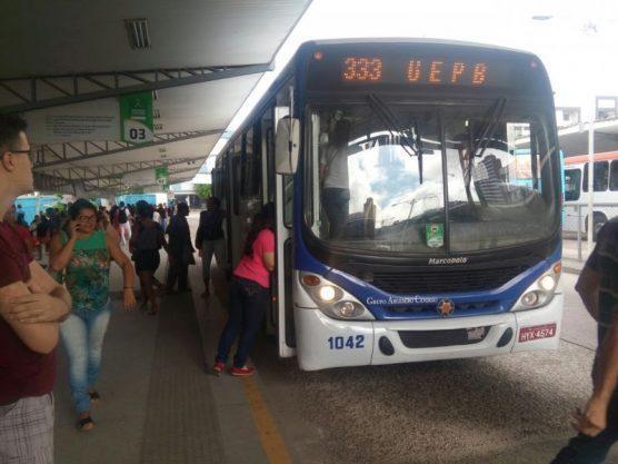 onibus campina grande cg 556x417 - Circulação de ônibus será suspensa em Campina Grande a partir desta quinta-feira