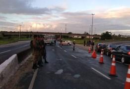 10° DE PROTESTOS: PRF inicia operação para liberação de caminhoneiros na BR-101 em JP