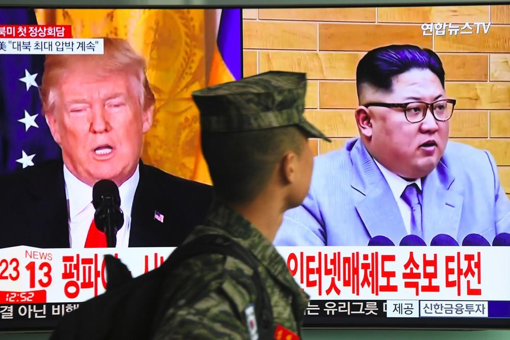 skorea nkorea us nuclear diplomacy 000 1274lu jung yeon je afp - Coreia do Norte suspende reunião com Seul e põe em dúvida encontro com Trump