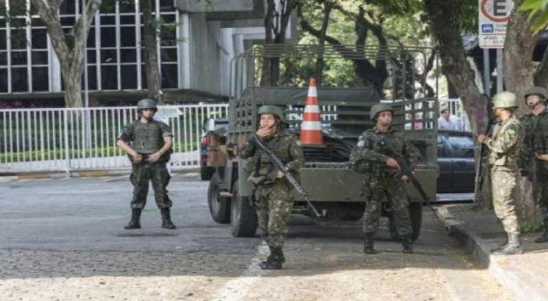 t 2 1 - Em nota, Exército esclarece atuação na Paraíba: 'vem atuando, de forma integrada, com diversos órgãos e instituições'