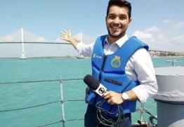 NA VOLTA NINGUÉM SE PERDE: Repórter paraibano é trazido de volta após sucesso em outro estado