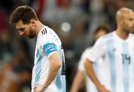 COPA DO MUNDO: Croácia goleia a Argentina em de 3 x 0