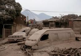 Vulcão de Fogo volta a estremecer a Guatemala; há mais de 70 mortos