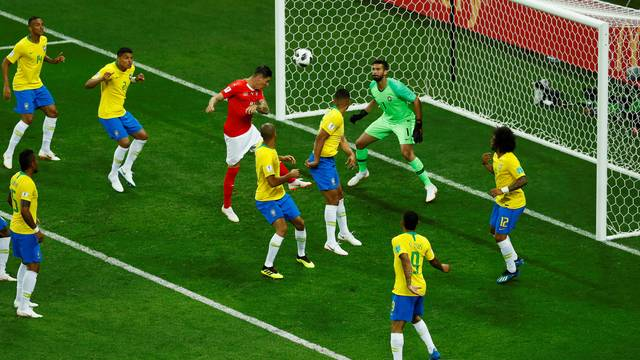 2018 06 17t191057z 1540055896 rc1566f82c00 rtrmadp 3 soccer worldcup bra swi - FICOU DEVENDO: Brasil leva empate da Suíça em estreia na Copa do Mundo