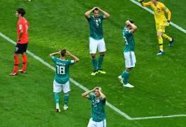 'ARRUMA MALA AÊ': Alemanha tem apagão, perde para a Coréia e dá adeus à Copa do Mundo