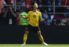 Possível rival do Brasil nas quartas de final, Bélgica goleia Tunísia com exibição de gala na arena em que a Seleção pegará Sérvia