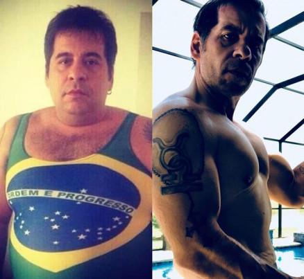 3a98354c6e9d251464fe57570a0f20cc - Leandro Hassum mostra antes e depois entre Copas do Brasil e da Rússia -CLIQUE E CONFIRA