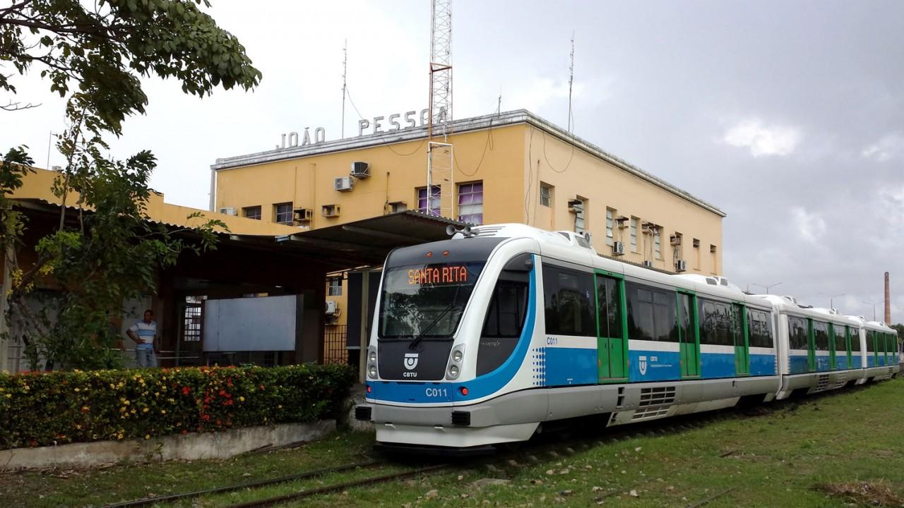 CBTU Joao Pessoa VLT TERCEIRO - BRASIL NA COPA: Trens de João Pessoa funcionarão em horário especial nesta segunda (2)