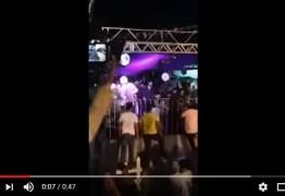 Parte de camarote desaba durante show de Xand Avião -VEJA VÍDEOS