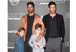 'Gostaria que  meus filhos fossem gays' Diz Rick Martin