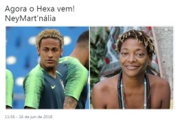 Internet não perdoa e novo cabelo de Neymar vira piada