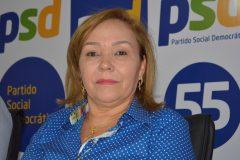 Eva Gouveia assume presidência do PSD e políticos defendem nome dela para disputar vaga na Câmara Federal