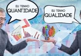 OPOSIÇÃO DIVIDIDA: Os trunfos utilizados por José Maranhão e Lucélio Cartaxo para sustentarem suas pré-candidaturas – por Felipe Nunes