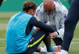 RECUPERADO? Pisão de Fernandinho em treino assustou Neymar e deixou seleção em alerta