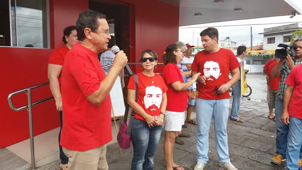 anísio maia pt candidatura - Anísio Maia fala sobre lançamento da candidatura de Lula em João Pessoa: 'a população nos recebeu de braços abertos'