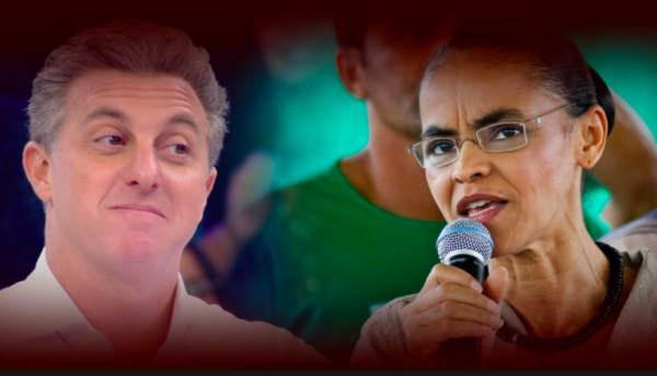 captura de tela 2018 02 27 as 09 03 02 600x343 - Marina Silva jantará com o apresentador Luciano Huck