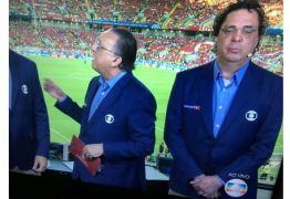 """Casagrande """"cochila"""" antes do jogo do Brasil e web não perdoa"""