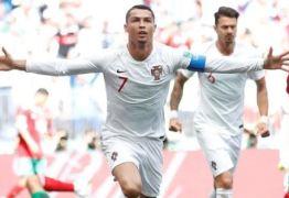 'ASTRO DA COPA': Portugal leva sufoco do Marrocos, mas é salvo por Cristiano Ronaldo e vence a 1ª na Copa