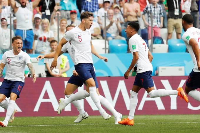 esporte copa inglaterra panama 20180624 006 - Inglaterra goleia o Panamá e se classifica para as oitavas da Copa -VEJA VÍDEO COM MELHORES MOMENTOS