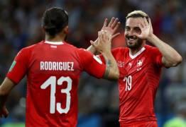 COPA DO MUNDO: Costa Rica arranca empate e Suíça avança em 2º lugar