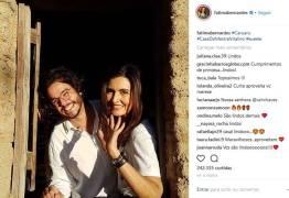 Fátima Bernardes fala sobre novo casamento de William Bonner