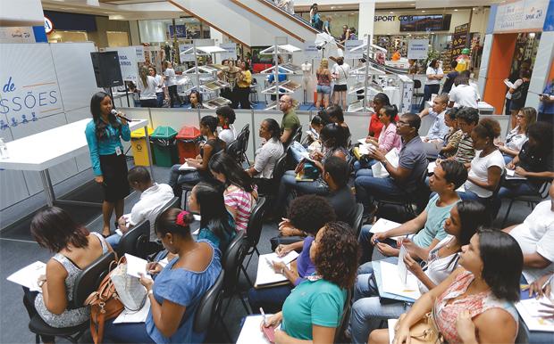 feira das profissões - Senac realiza mais uma edição da Feira de Orientação para o Trabalho