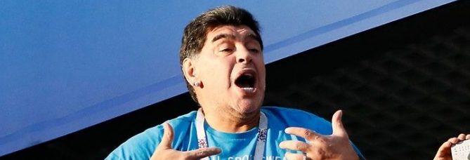 futebolbahiano.org maradona faz de tudo na copa e ate salva seu patrocinador maradona 678x381 e1606321359305 - Morre Diego Armando Maradona, aos 60 anos