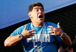 """Maradona condena notícias falsas após mal-estar: """"Estou perfeito"""""""