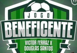 Jogo beneficente reúne Victor Ferraz, Douglas Santos e amigos em João Pessoa